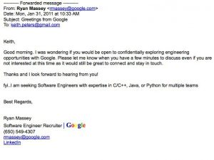 second follow up email after interview sample recruiters email