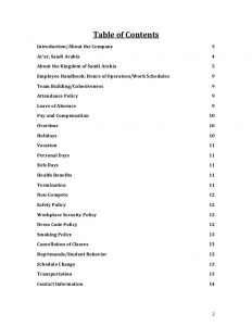 security policy examples nbu employee handbook and policies