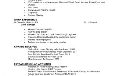 security policy examples resume sample hannah hatboro