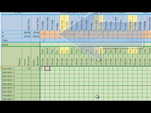 shift schedule templates hqdefault