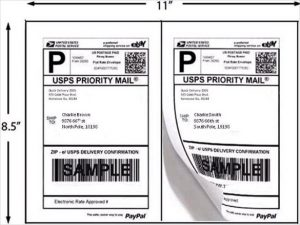 shipping label example example sheet shipping labels