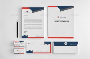 shirts design software corporate stationery design template