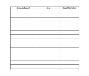 sign out sheet equipment signout sheet pdf
