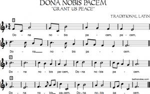 sign up sheet pdf dona nobis pacem