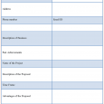 simple budget planner proposal template free freeproposaltemplate