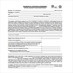 simple business case templates residential purchase agreement form