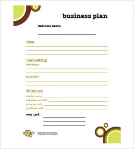simple business plan how to write a simple business plan