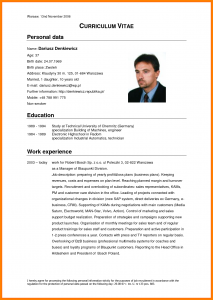 simple cover letter template cv in english example cv in english example