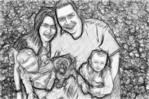 simple family tree family