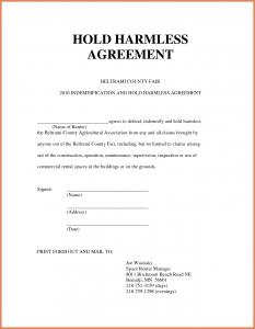 simple hold harmless agreement hold harmless agreement sample hold harmless agreement template zadxgpt