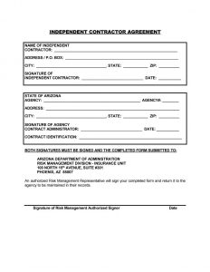 simple independent contractor agreement independent contractor agreement