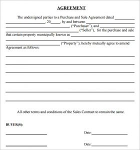 simple land purchase agreement form simple purchase and sale agreement