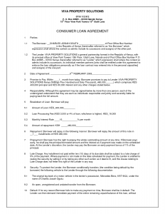 simple loan agreement simple business loan agreement template