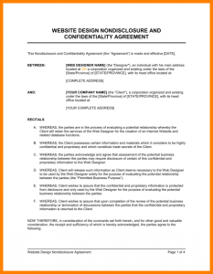 simple non disclosure agreement basic non disclosure agreement non disclosure agreement template