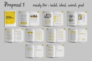 simple one page business plan template privew cr o x