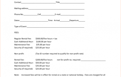 simple one page lease agreement simple one page rental agreement