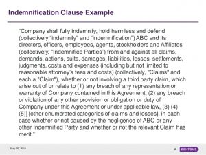 simple purchase agreement template indemnification an overview and trends in ma