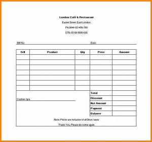simple reimbursement form example of receipt sample restaurant receipt template in excel
