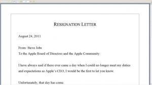 simple resignation letter template resignation letter for better jobportunity of template formal sample resume x
