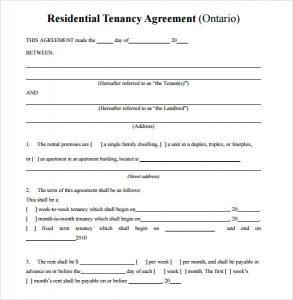 simple room rental agreement form free simple residential rental agreement