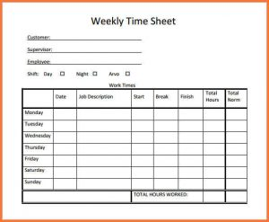 simple timesheet template time sheet template weekly timesheet template free download