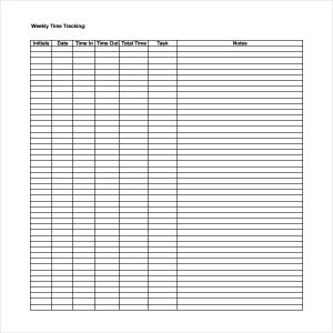 simple timesheet template weekly time tracking template download in pdf