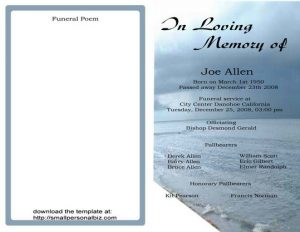simple wedding ceremony outline sample funeral program