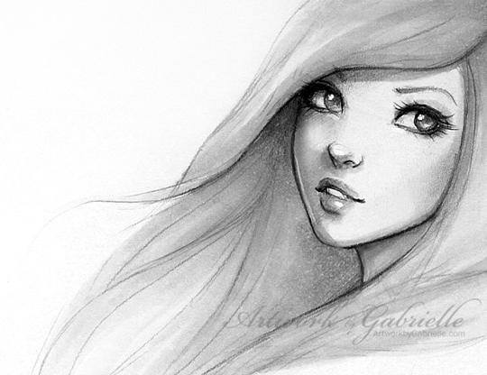 sketches of wemon