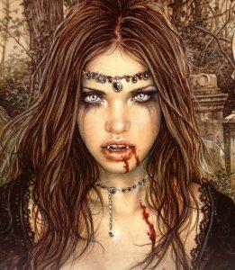 sketches of wemon women from love to vampires