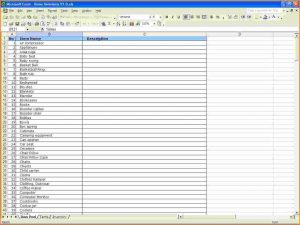 small business inventory spreadsheet template blank inventory sheets to print