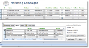 small business plan outline marketing campaign summary