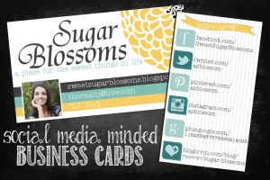 social media cards sm bus card