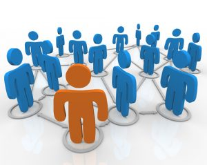 social media on business cards social networks