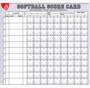 softball score sheet download softball score sheet template