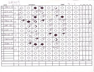 softball score sheet scoresheet