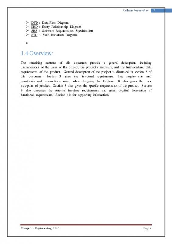 software requirements document template