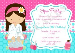 spa party invitations il fullxfull lntb