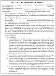 sponsorship agreement template e a ebook main