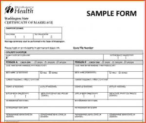 sponsorship agreement template washington state marriage license newwacertificateofmarriage