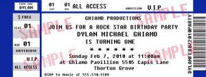 sponsorship proposal template concert ticket invitation template free ctsfashion