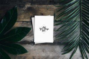 square business card mockup free postcard mockup set psd