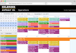 staff schedule template carousel slide