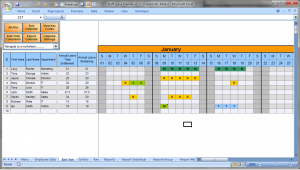 staff schedule template employee vacation calendar excel staffplanner calendarwide stiogb