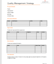 stakeholder analysis templates quality managment strategy