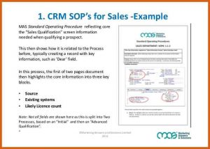 standard operating procedures examples standard operating procedure examples are sops the secret to crm adoption success cb