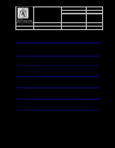 standard operating procedures examples standard operating procedure template pdf