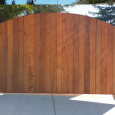 standard rental application wood application redwood electrical driveway gate outside by reed brothers security