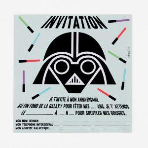 star war invitations cartons invitations anniversaire enfant star wars