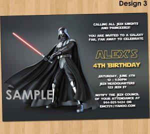 star wars birthday invitation il fullxfull tmxc