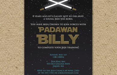 star wars birthday invitations il fullxfull asu